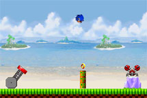 Jugar a Angry Sonic